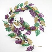 6' Lace Leaf Garland