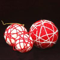 Yarn Ball Ornament
