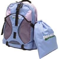 Rucksack with Drawstring Golf Shoes Bag Rucksack Size 12.75 x 6.25 x 17.5 inches