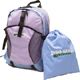 Rucksack with Drawstring Golf Shoes Bag Rucksack Size 12.5 x 7.25 x 17.5 inches, GBP-3160