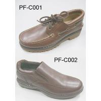 Leather Upper Men Boat Shoes And Contour Stitches Shoes