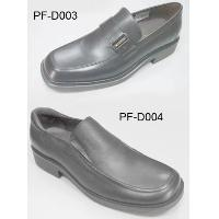 Leather Upper Leather Lining Rubber Sole Slip-on Men Dress Shoes