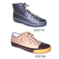 Leather Upper Rubber Sole Lace Up Men Comfortable Casual Shoes