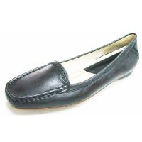 Black Casual Simple No Pattern Slip-on Comfortable Woman's Shoes
