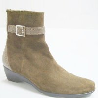 Casual Simple w/ Buckle Autumn Winter Women' Dress Shoes Bootie