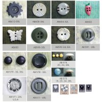 Nylon Plastic Button