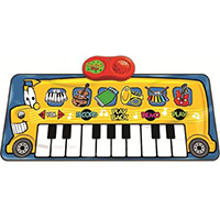 Musical Bus Playmat, SLW956