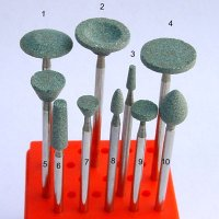 Green Abrasive Points ( Silicon carbide ) - HP