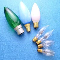 COLOR CANDLE BULBS