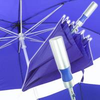 Aluminium straight umbrella