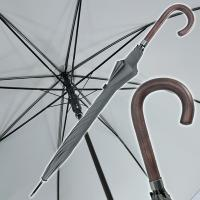 Nylon automatic stick umbrella