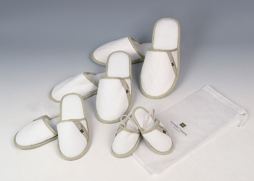 Velopur slippers in various sizes