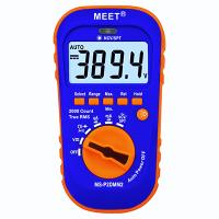Palm Size TRMS 2000-count Digital Multimeter with Super-bright LED Torch/Flashlight