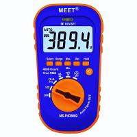 Palm Size TRMS 4000-count Digital Multimeter with Super-bright LED Torch/Flashlight