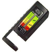 Bar graph LC Display Battery Tester for 1.5 and 9V Batteries