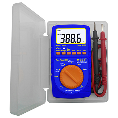 Pocket Size TRMS 6000 Count Digital Multimeter with
