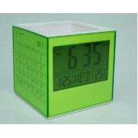 Combo Cube (Pen holder with LCD & Paper Calendar)