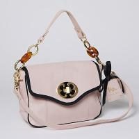 EF  inchesPink Lady inches Mini Leather Bag
