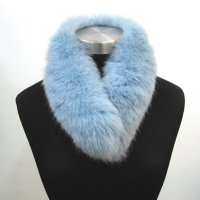 Dyed Fox Collar (with lining and fur clip)