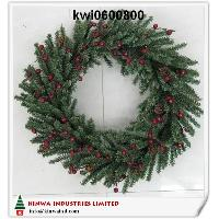 24 inches (60cm)pine Wreath W/berries