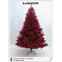 180cm Deluxe Canadian Pine Tree In Red