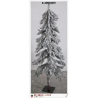 120cm Heavy Frosted Alpine Tree