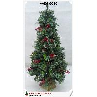 120cm Red Berry Mixed Pine Tree