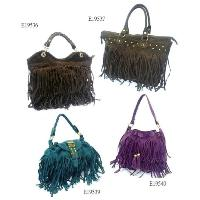 Tassel Details Fashion Ladies Bag 4 Pcs Four Hand Bag Set