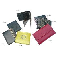 Colorful Flap / Snap Closure 7 Pcs Portable Fashion Wallet