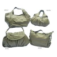 Dark Khaki No Pattern Fashion Bags 4 Pcs Tote Bags Set