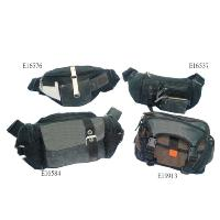 Dim Grey 4 Pcs Waist Bag Travelling Workout Casual Unisex, E16576  E16537  E16584  E19913