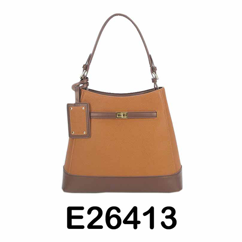 Light Brown PU Ladies Handbag