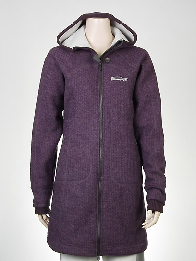 Ladies Wool Hoodie Coat