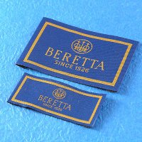 Damask Woven Label