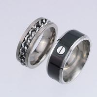 Titanium Ring / Stainless Steel Ring