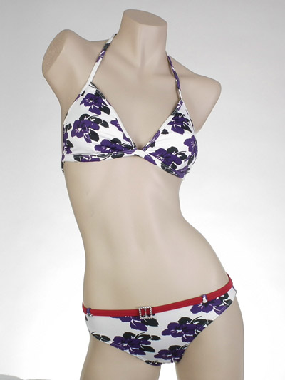 Ladies' Knitted Swimwear Set