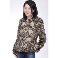 Imitation Fur Emboridery Jacket