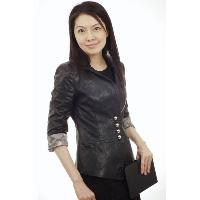 3/4 inches Sleeves Leather Blazer