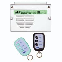 IR REMOTE CONTROLLED 2-ZONE ALARM CONTROLLER WITH DOOR CHIME