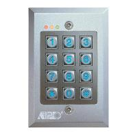 FLUSH MOUNT VANDALPROOF KEYPAD