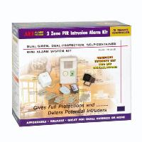 IR CONTROLLED 2-ZONE PIR ALARM SYSTEM KIT