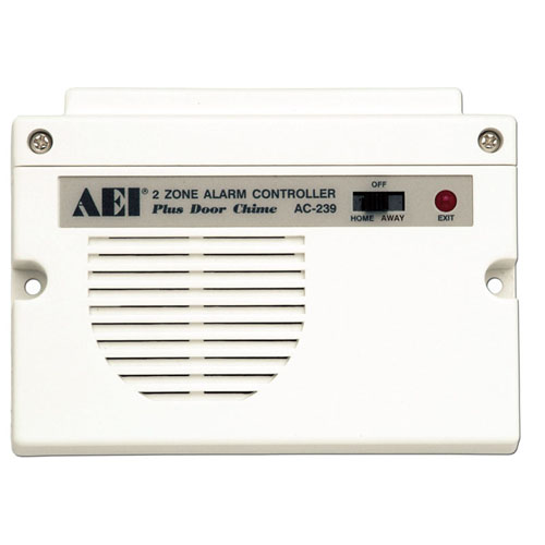 AC-239 2-ZONE ALARM CONTROLLERS