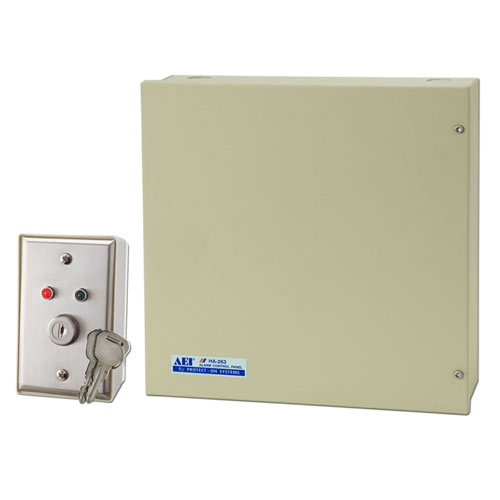 8-ZONE 2-PARTITION ALARM CONTROL PANEL