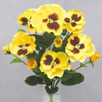 Pansy bush 14 inches # Yellow