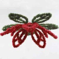 3D Poinsettia Hanging 25 inches, 68380