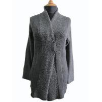 Ladies' Acrylic/Wool Knitted Cardigan