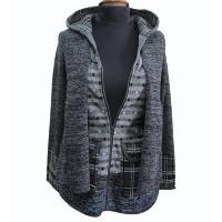 Ladies' Wool Mixed Knitted Cardigan
