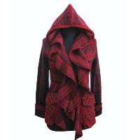Ladies' Acrylic Wool Knitted Cardigan