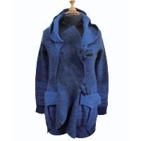 Ladies' 100% Wool Knitted Cardigan