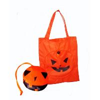 Pumpkin Foldable Bag
